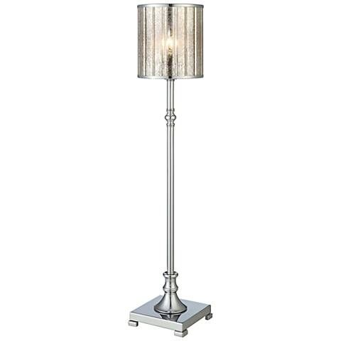 Crestview collection district chrome buffet lamp