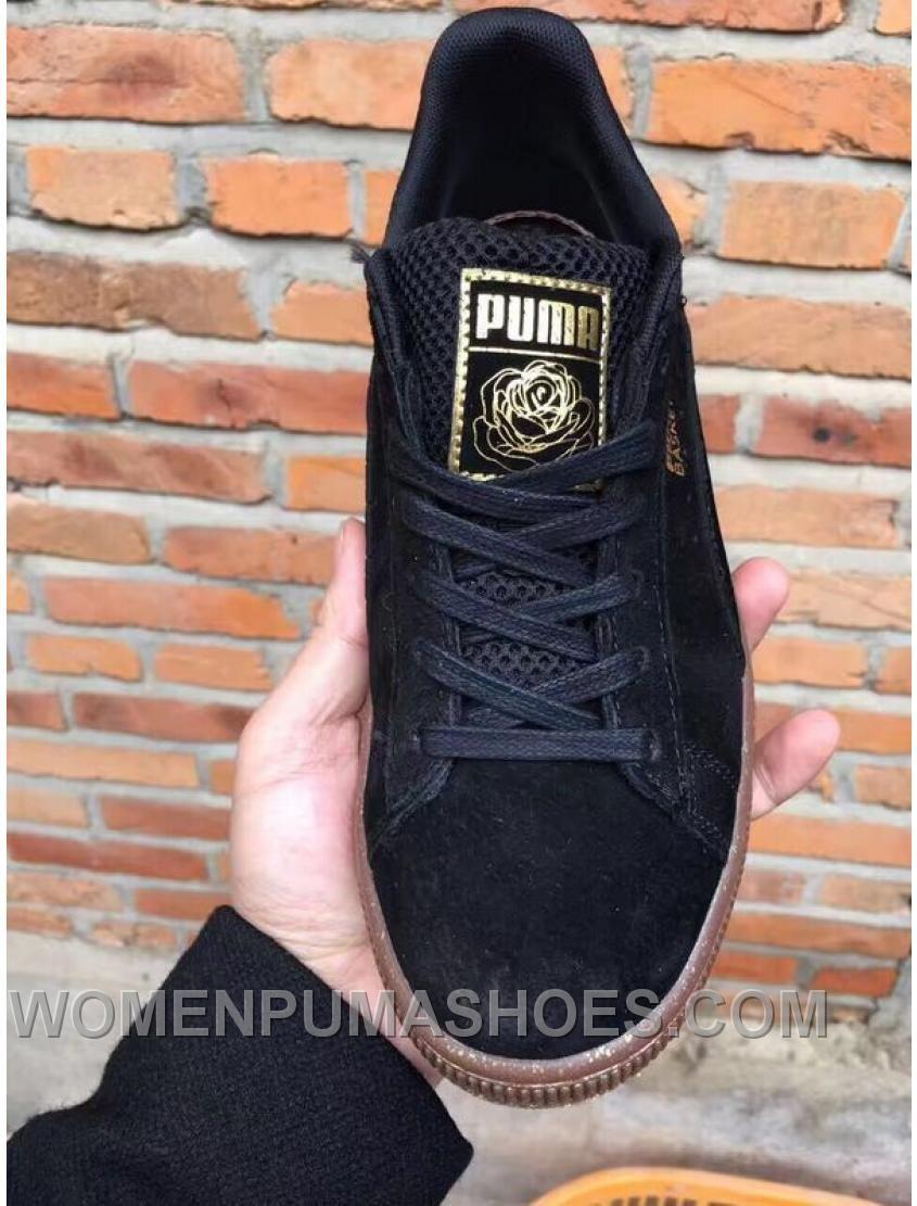 1982ab78f78d Puma Suede Black Rose Women Men New Release 3BKyJhx