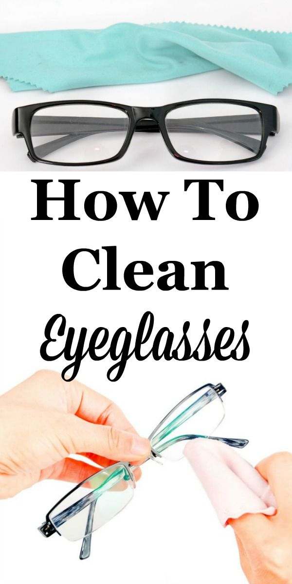 How To Clean Eyeglasses | Eyeglass lenses, Cleaning solutions and ...