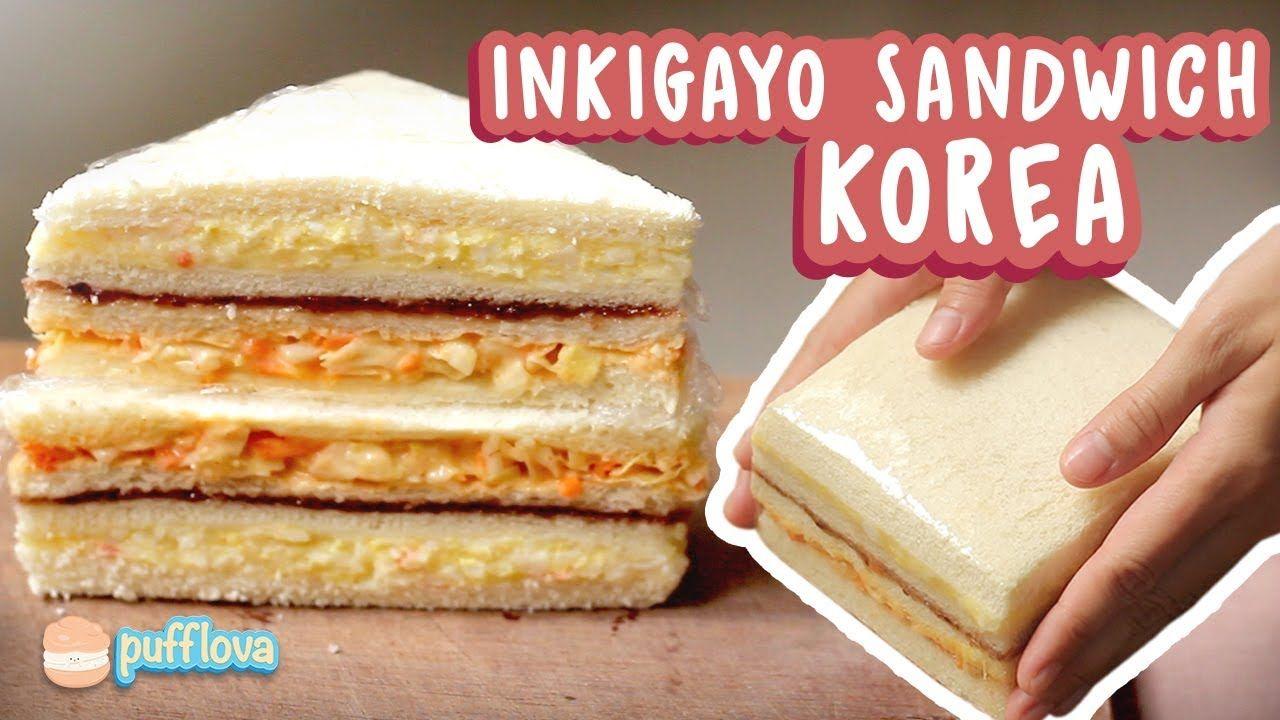 Inkigayo Sandwich Favoritnya K Pop Idol Roti Lapis Resep Sandwich Makanan