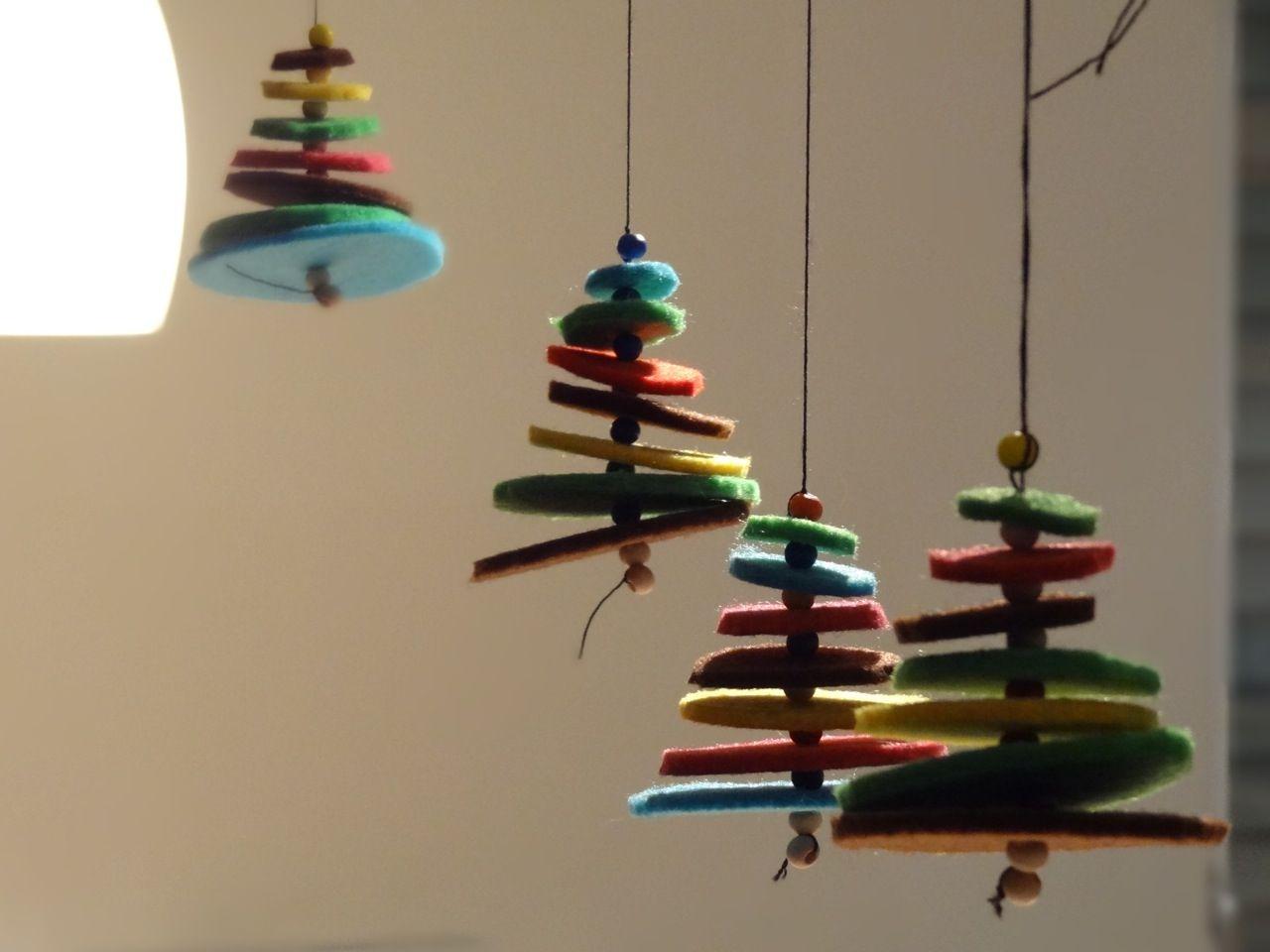 Regenwurm Die Ersten Weihnachtsbaumchen Bastelideen Pinterest
