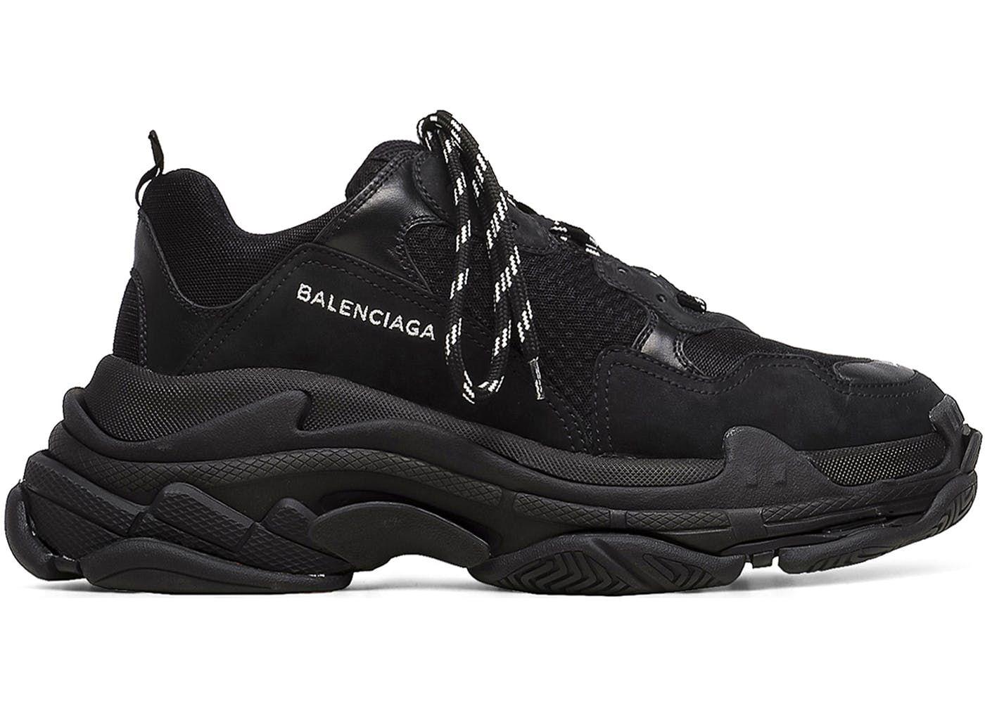 294de9ec1596 Balenciaga Mens Triple S Sneaker All White STYL3Z Guide