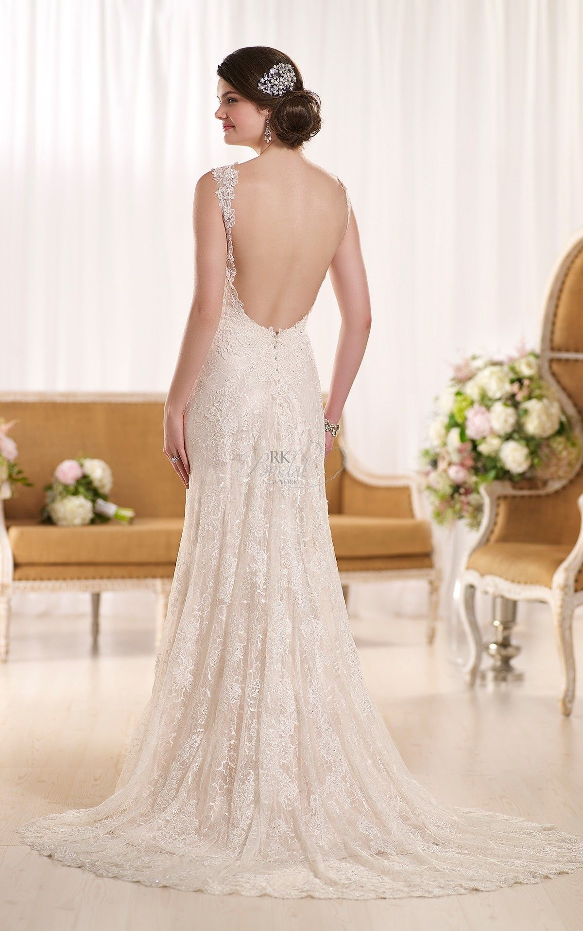 Watch Wedding Dresses Essense of Australia Fall 2015 video
