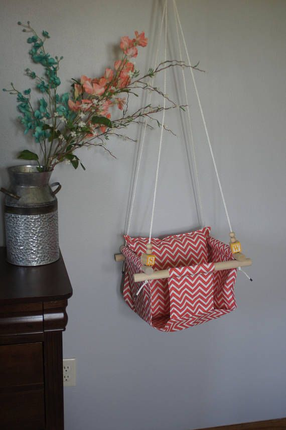 Cloth Hanging Swing For Babies And Toddlers Up To 40lb Age 4 5