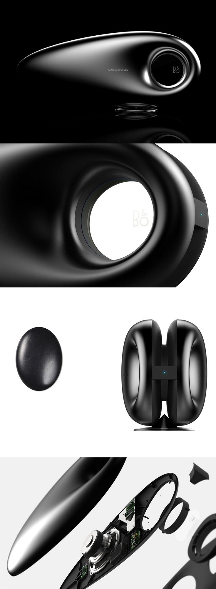 This 'Beosound Wireless Speaker' look like it's speeding faster than the speed of sound, it is a pretty neat hi-end audio speaker with a cut-out in the  center that spews beautifully delicious tunes in a 360° radius... READ MORE at Yanko Design !