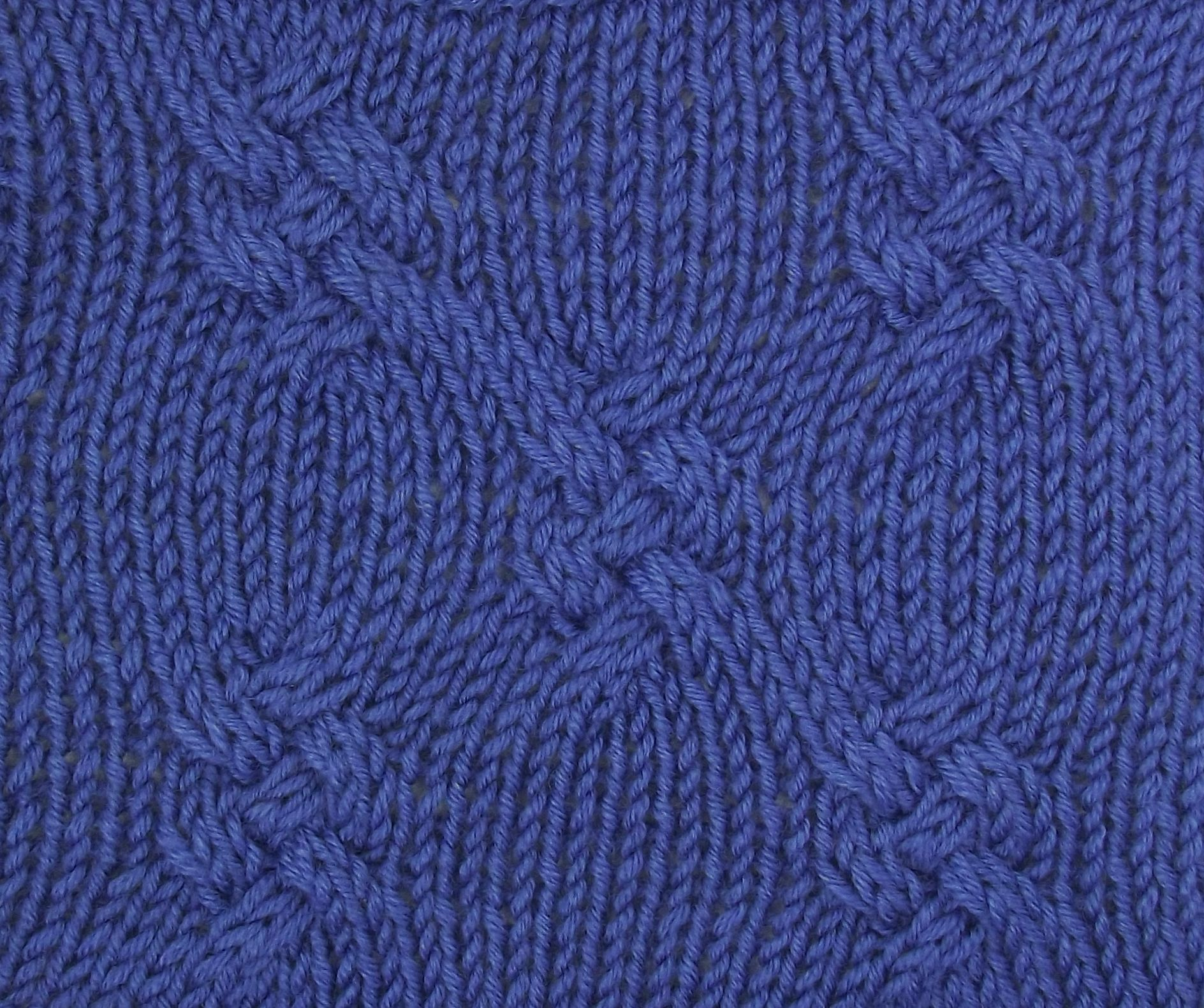 Alternating Cabled Knots offers a unique, allover cable pattern. It ...