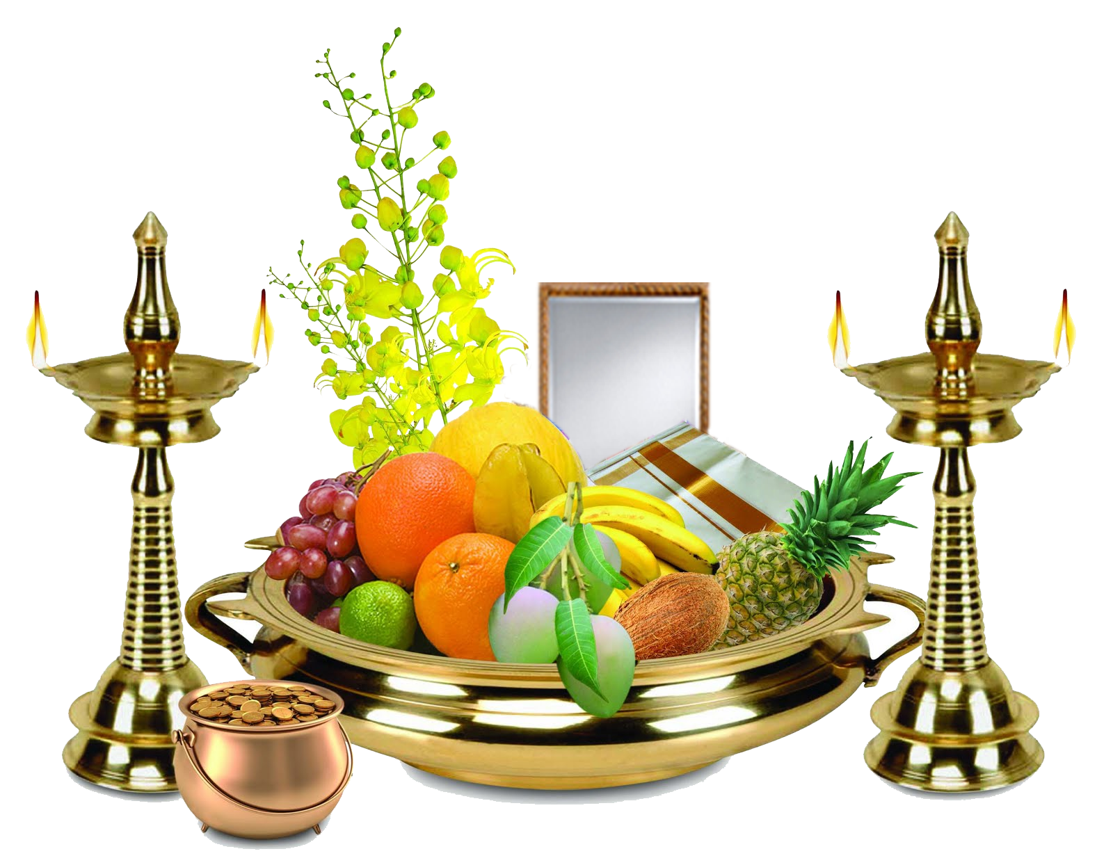 Happy Tamil New Year / Vishu | Vishu greetings, Vishu ...