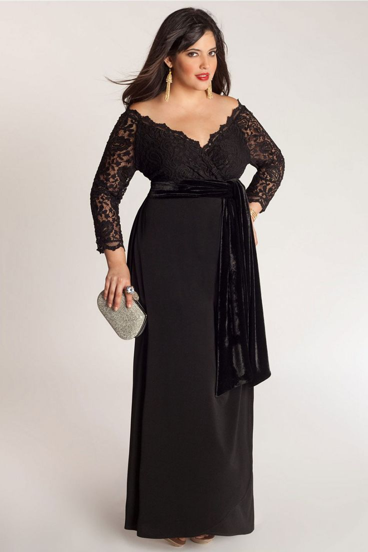 Fascinating Long Sleeve Plus Size Maxi Dresses Collection Trends Plus Size Black Dresses Plus Size Maxi Dresses Plus Size Gowns
