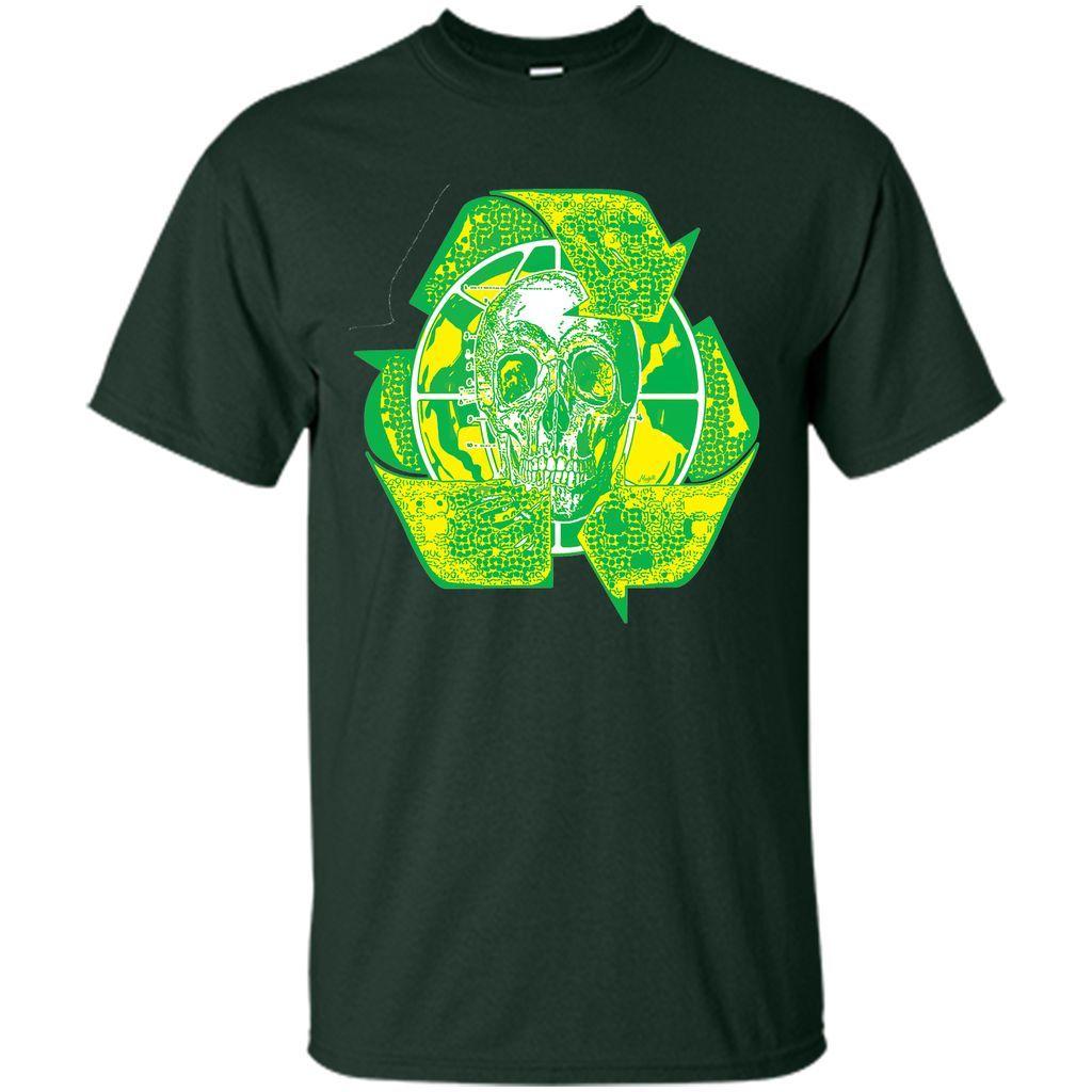Earth day recycle skull symbol t shirt symbols earth and products earth day recycle skull symbol t shirt buycottarizona