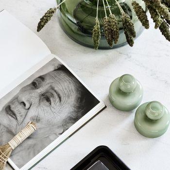 Marimekkos Flower Vases In Olive Pient Ja Kaunista Pinterest