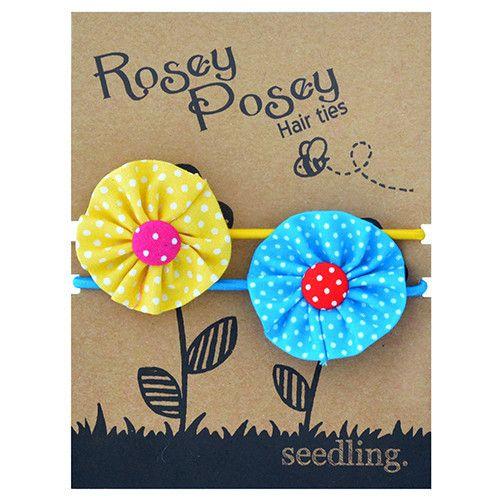 Rosey Posey Hair Ties