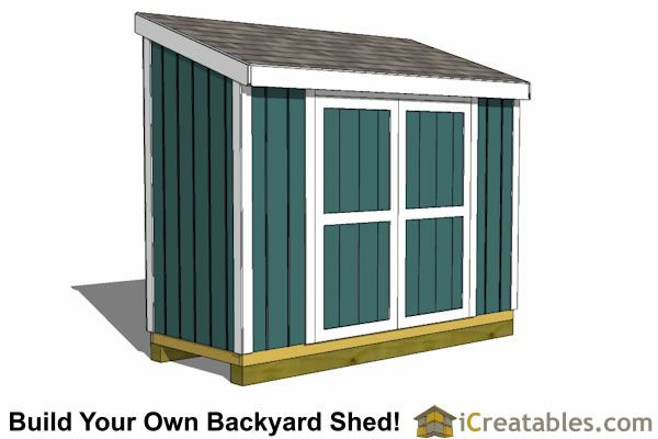 4x10 Lean To Shed Plans Outdoor Garden Shed Small Shed Plans Small Shed Plans Lean To Shed Lean To Shed Plans