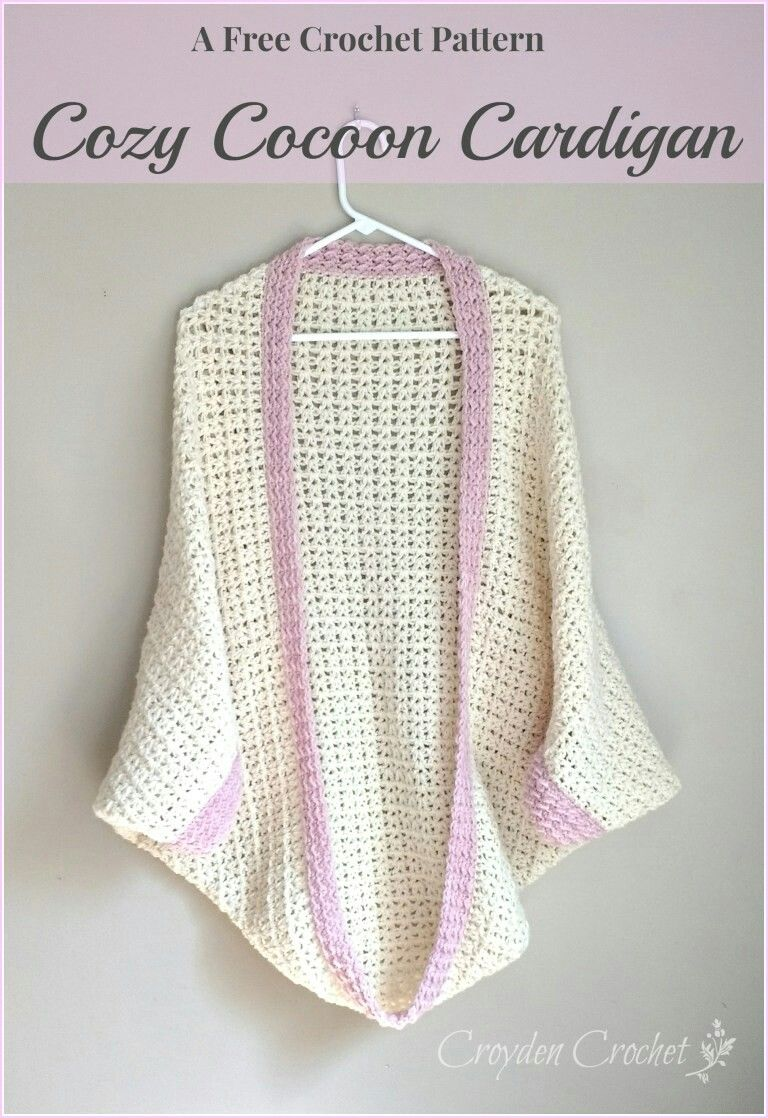 Crochet Cozy Cocoon Cardigan