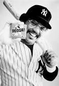 My first, and enduring, Yankee hero. (Don't care what anyone says, Reggie bars were good...)