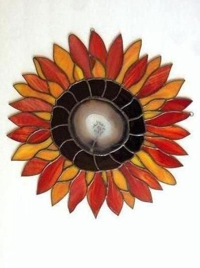 Sunflower And Agate II - Delphi Artist Gallery
