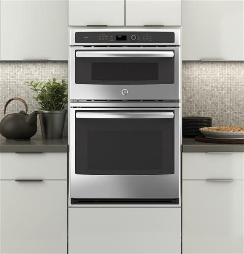Pk7800skss By Ge Electric Wall Ovens Goedekers Com Wall Oven Microwave Wall Oven Microwave Combo Wall Oven
