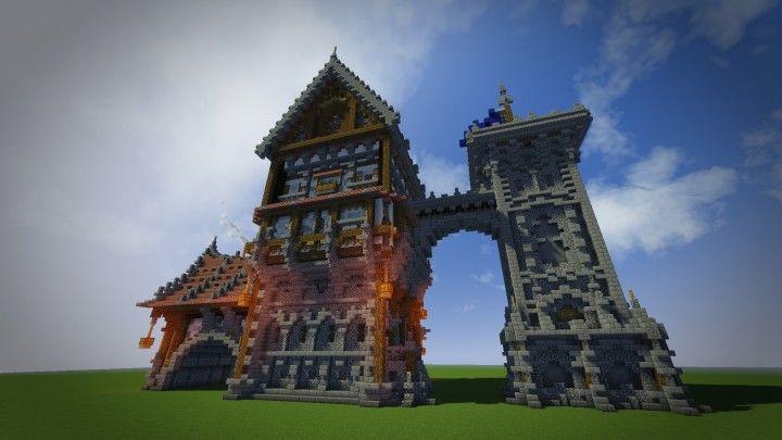Medieval Mondays  1  Large House Minecraft Map
