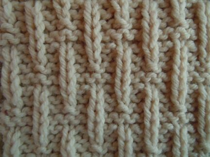 raindrop knitting pattern