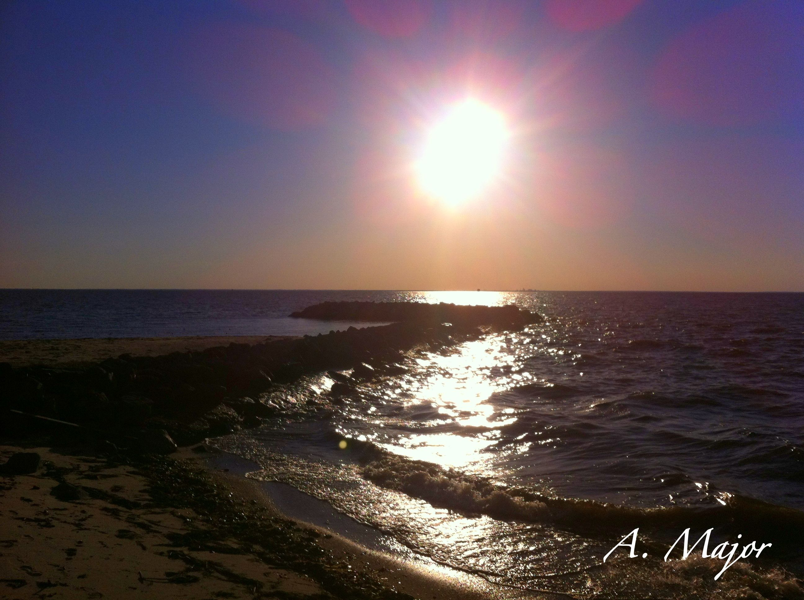 Sunset At The Grand Hotel Point Clear Alabama On Mobile Bay Orange Beach
