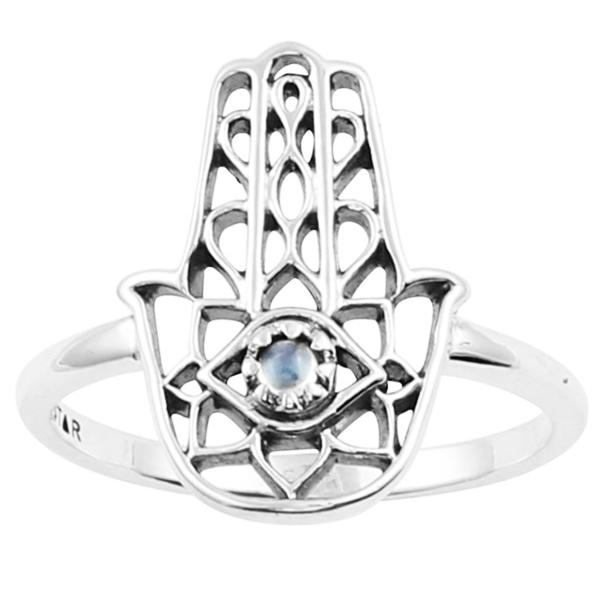 Divine Hamsa Ring