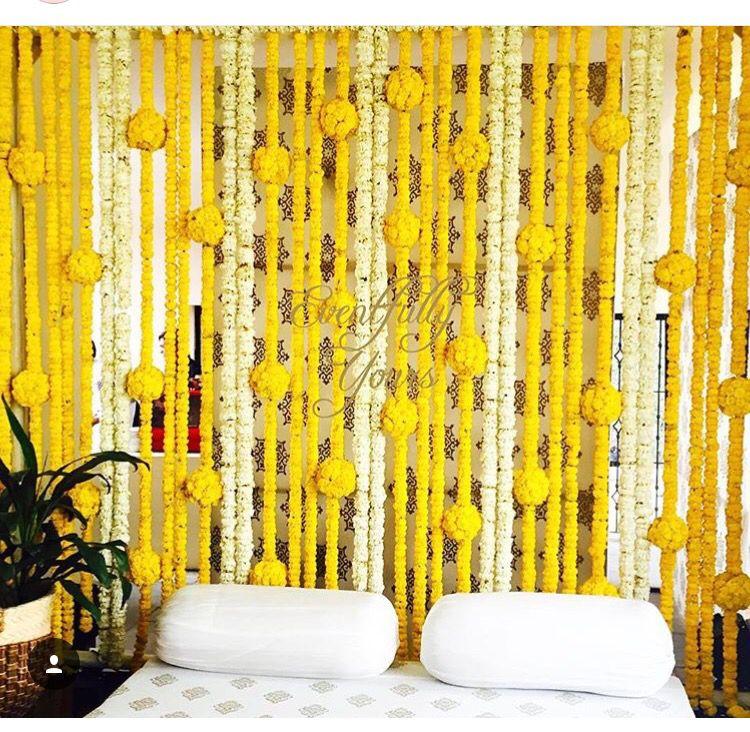 Wall Decoration With Marigold Flowers Valoblogi Com