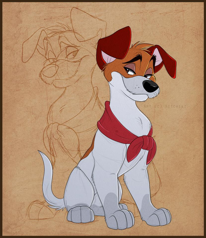 Dodger By Https Www Deviantart Com Kitchiki On Deviantart Cartoon Drawings Disney Disney Drawings Disney Dogs Drawing