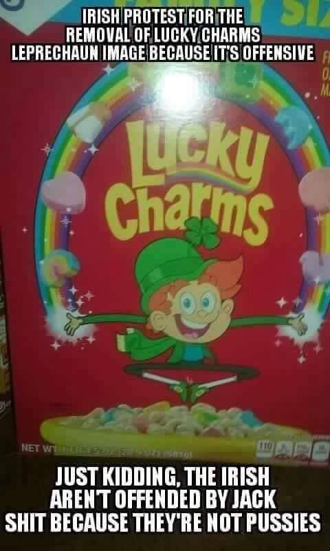 lucky charms phrase