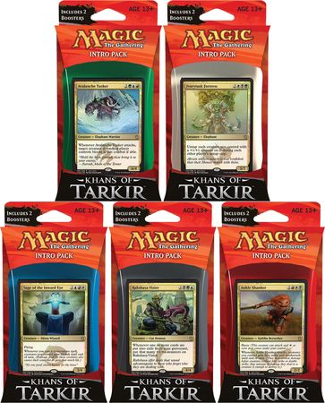 Magic The Gathering Khans Of Tarkir Intro Deck Set Magic The