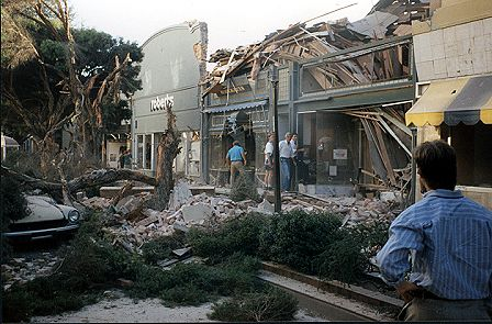 downtown santa cruz 1989 earthquake