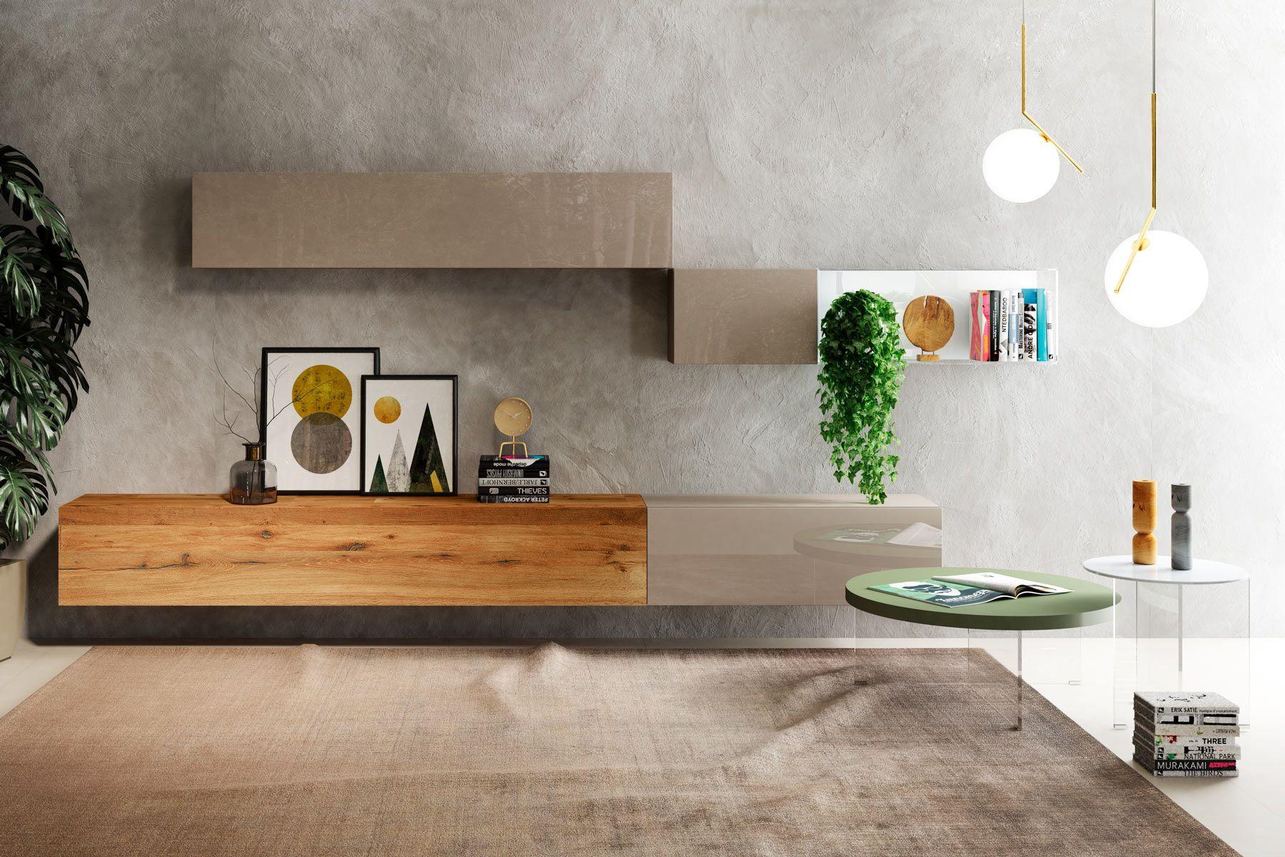 Tavolini Da Salotto Lago parete attrezzata 36e8 per il soggiorno   parete attrezzata