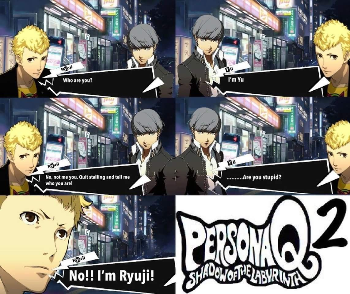 Johneawesome persona 3
