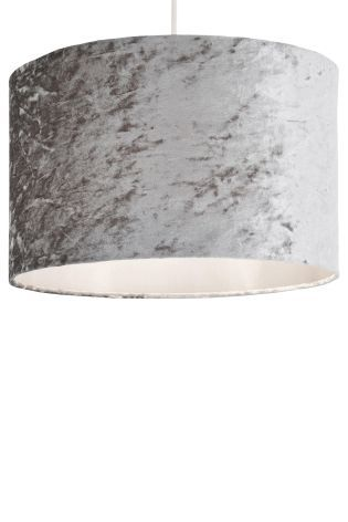 Grey crushed velvet easy fit shade home dcor pinterest grey crushed velvet easy fit shade aloadofball Images