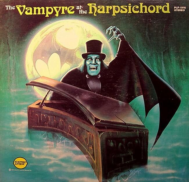 Verne Langdon - The Vampyre At The Harpsichord