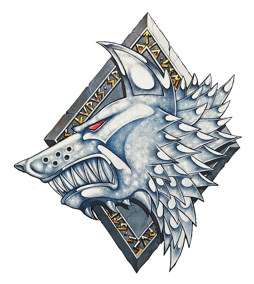 Space Wolves Badge