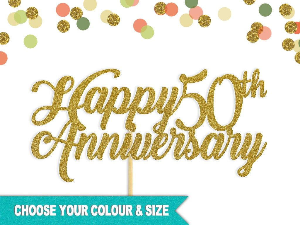Your Place To Buy And Sell All Things Handmade 50th Anniversary Cakes Happy 50th Anniversary 50th Anniversary