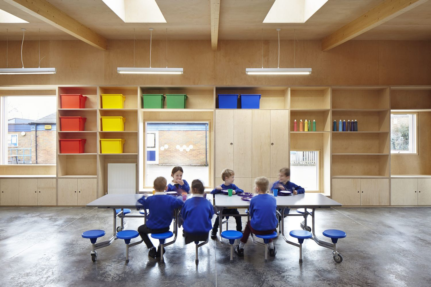 Gallery of Prestwood Infant School Dining Hall / De Rosee Sa - 3