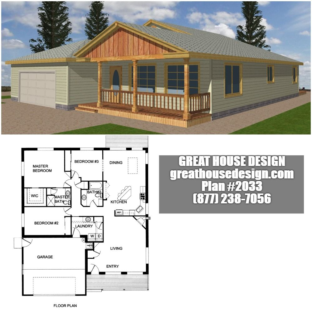 Home Plan 001 2033 Home Plan Great House Design Bungalow House Plans House Plans House Design