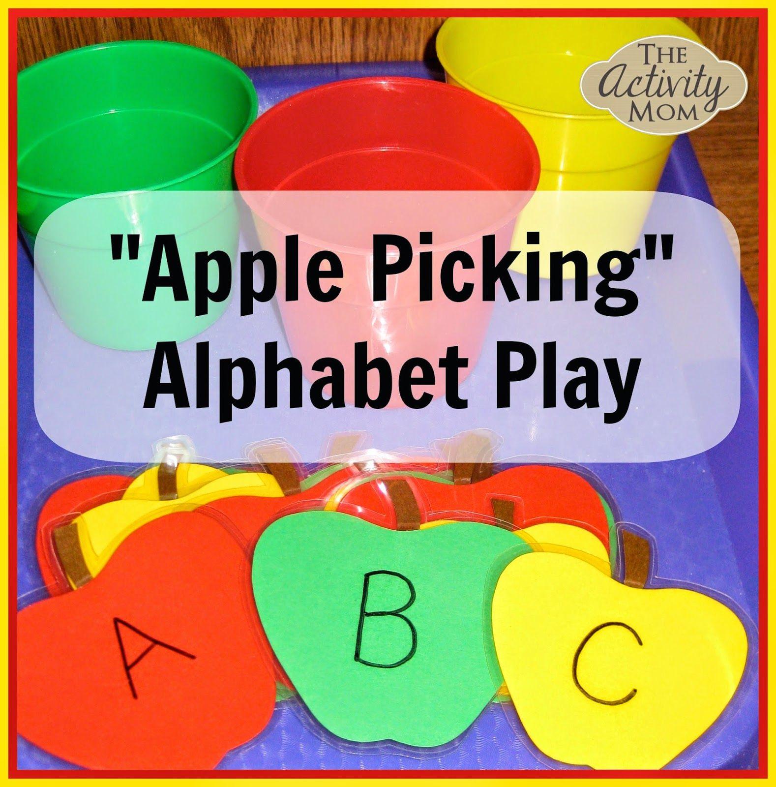 Apple Alphabet Play Apples