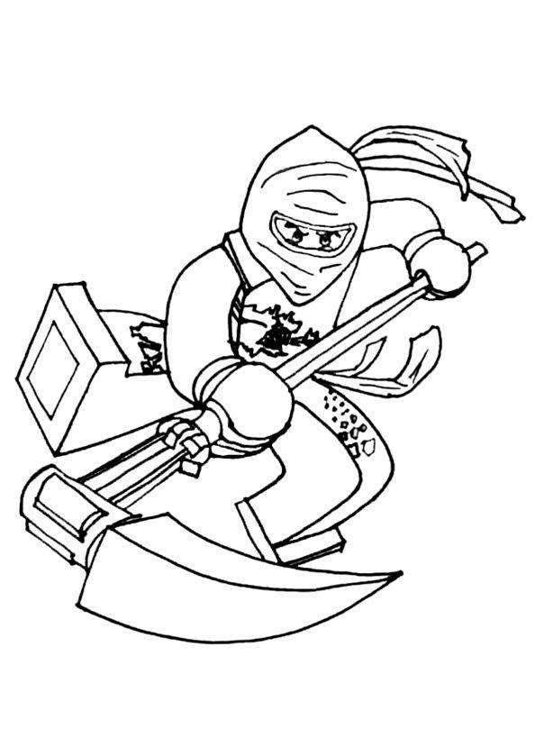 bilder 5 von ninjago | Ninjago ausmalbilder, Ausmalen und ...