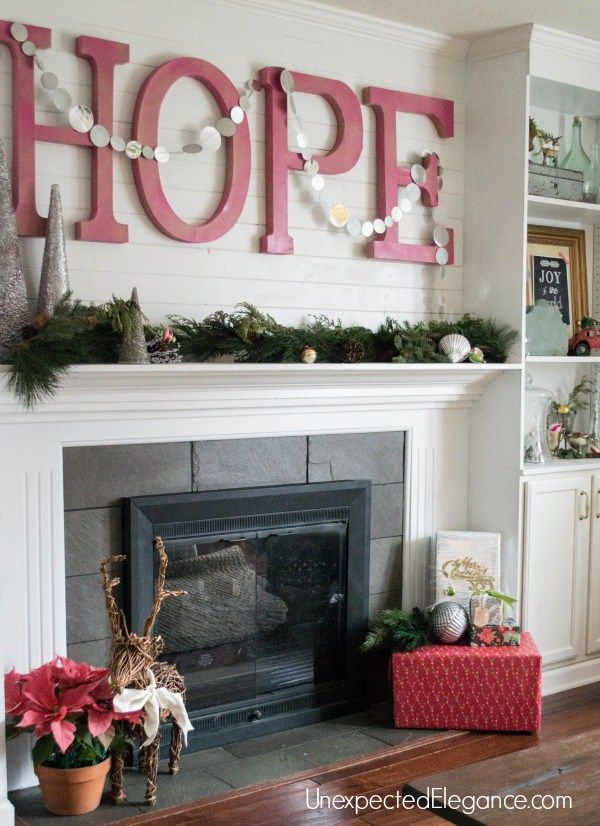 Faking A Fully Decorated House My Christmas Tour Diy Craft