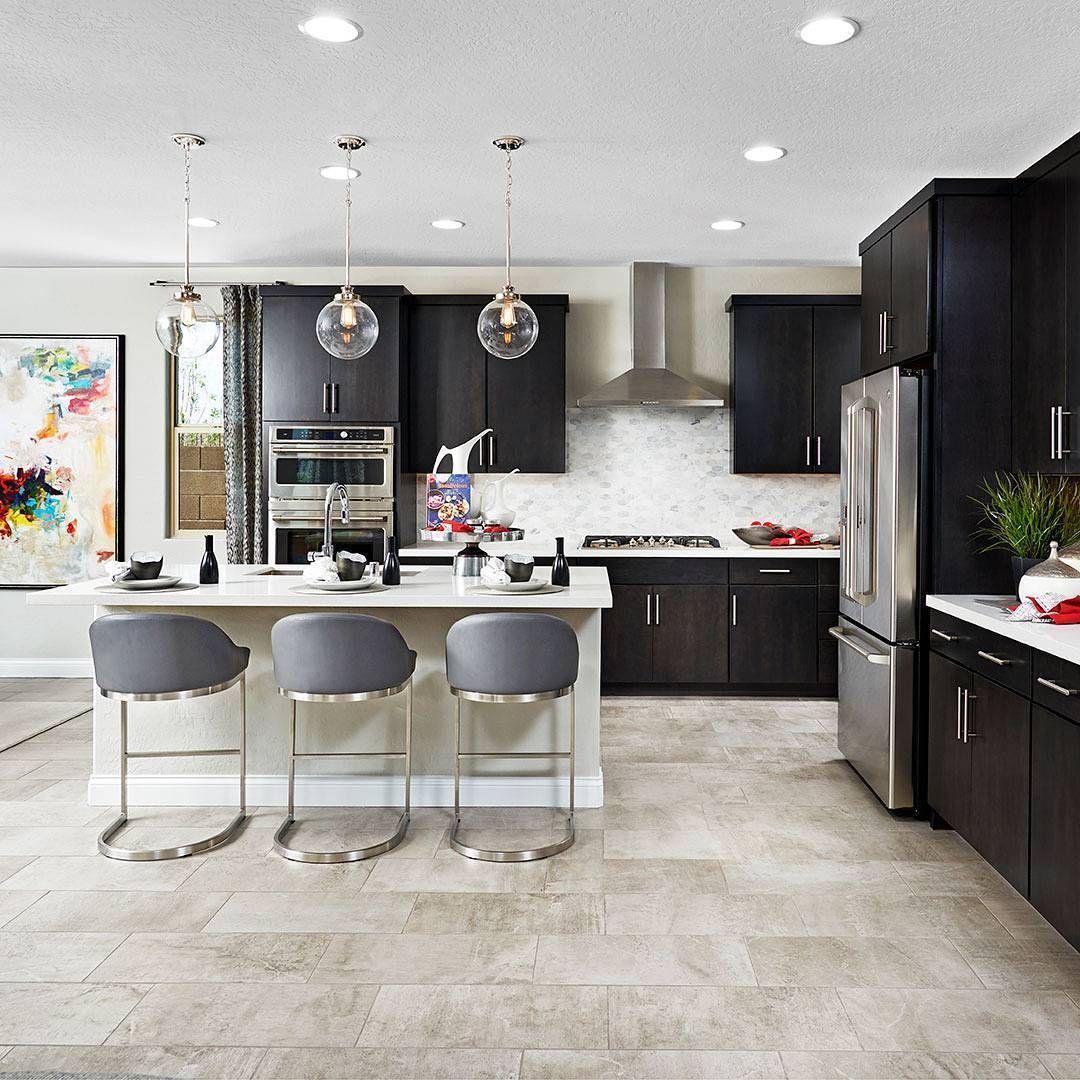 83 Likes 4 Comments  Richmond American Homes Richmondamerican Brilliant Kitchen Design Richmond Design Ideas