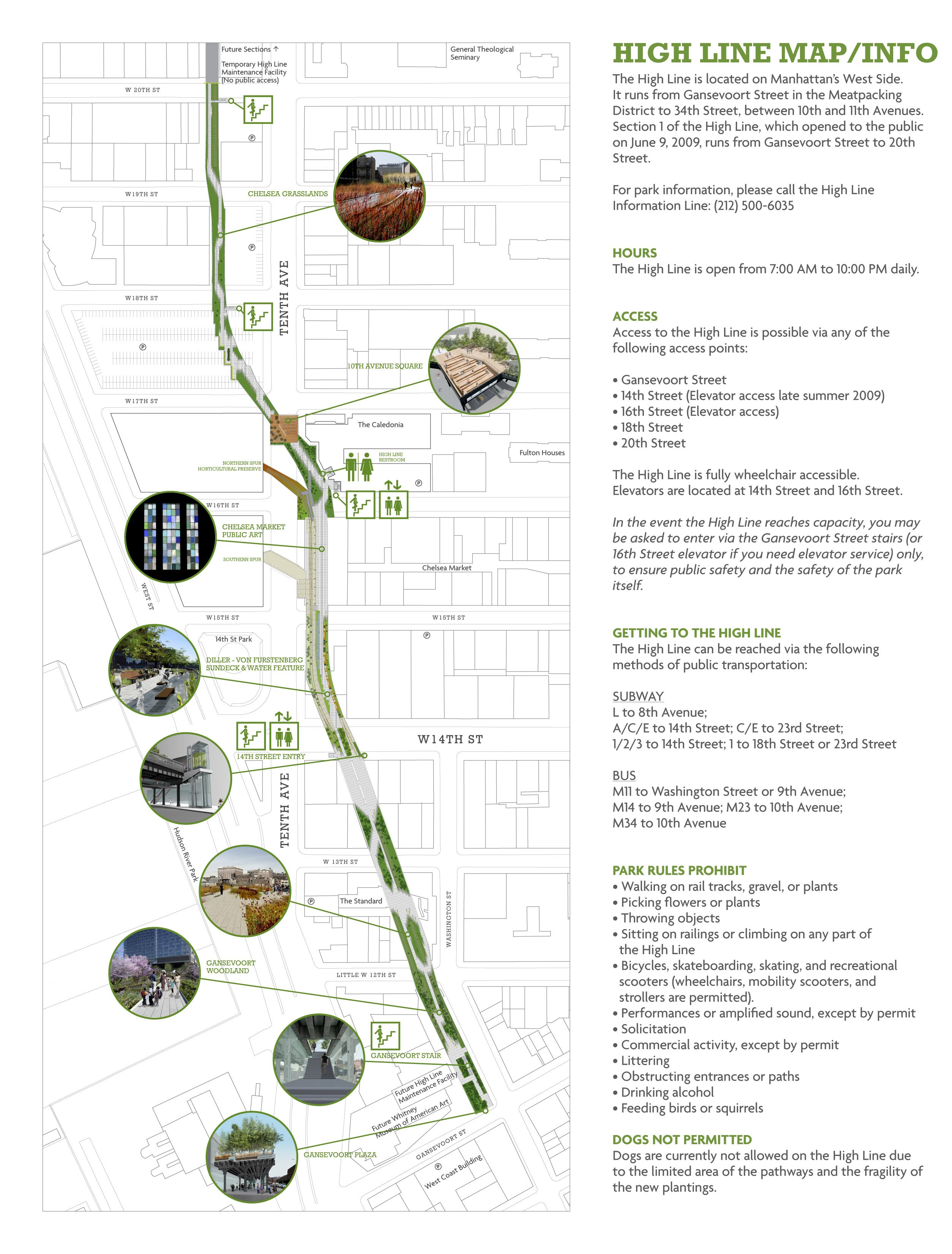 High line section cerca con google an lisis urbano for Google planimetria