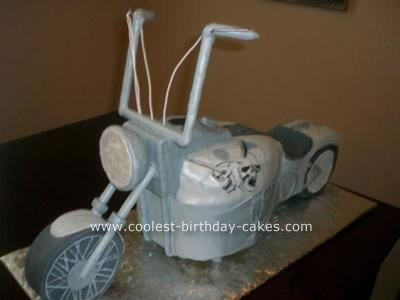 Motorcycle Cake 25th hour Cake and Birthday cakes