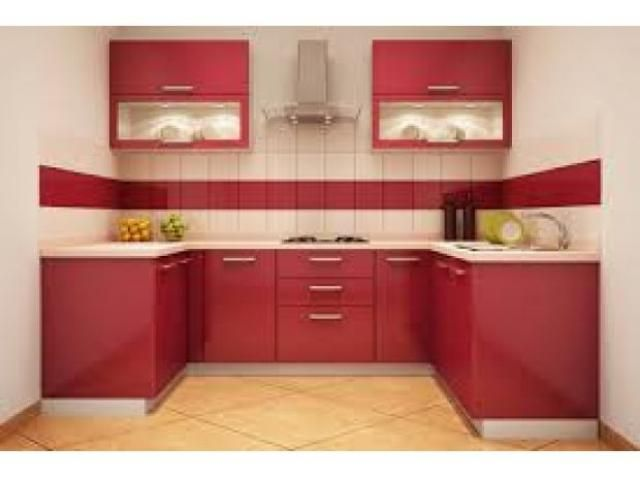 Small modular kitchen price online for Online modular kitchen designs