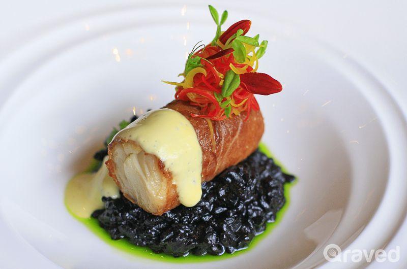 Slow roasted black cod hot restaurants haute cuisine pinterest black cod chef recipes - French haute cuisine dishes ...