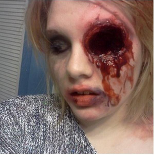 Stunning Missing Eye Halloween Makeup Images - harrop.us - harrop.us