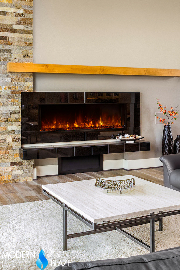 Modern Flames 60 Landscape 2 Built In Electric Fireplace Lfv2 6015 Sh Built In Electric Fireplace Fireplace Masonry Contractor