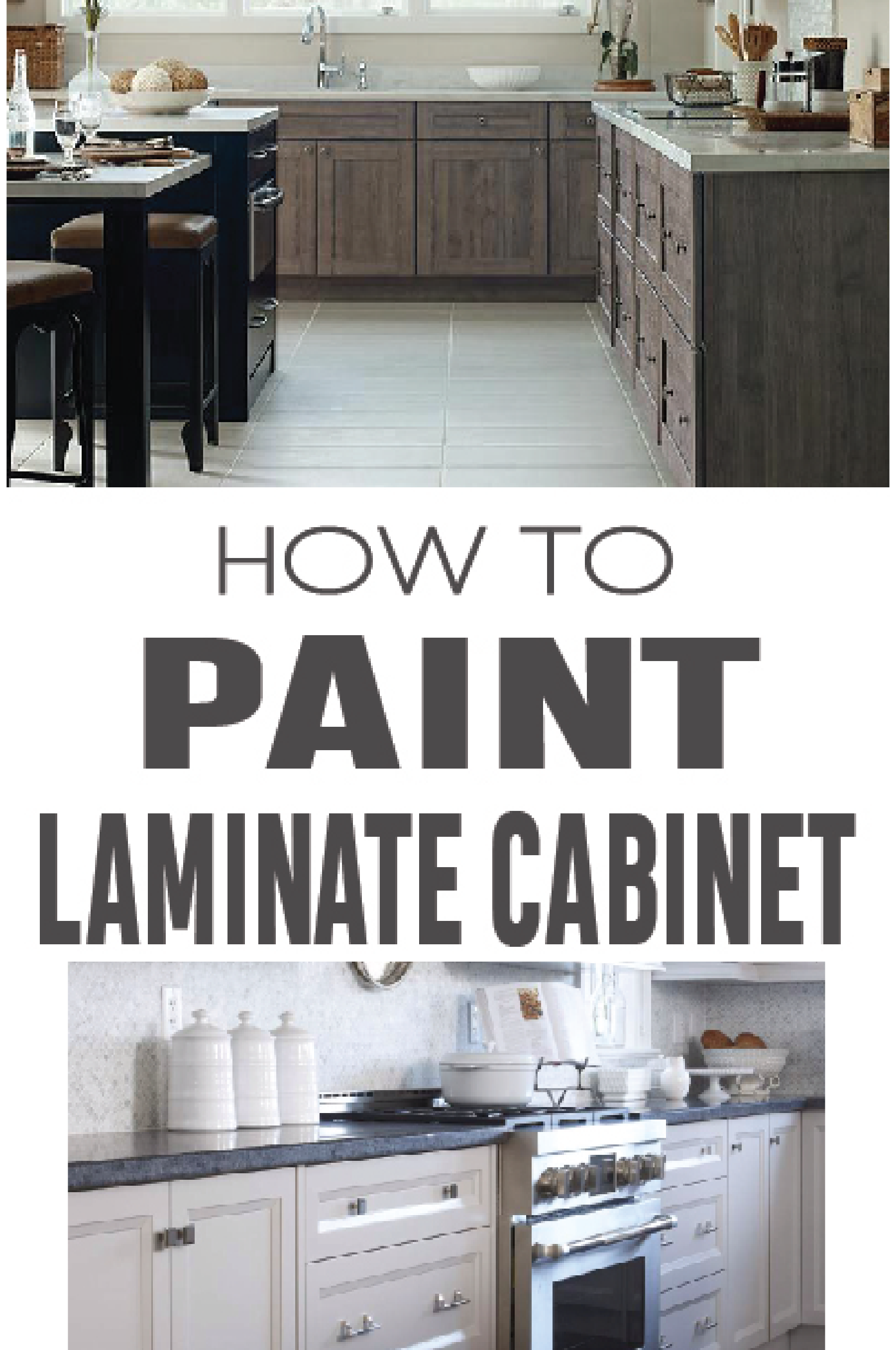 How to Paint Laminate Cabinets | DIY Home Decor Ideas ...