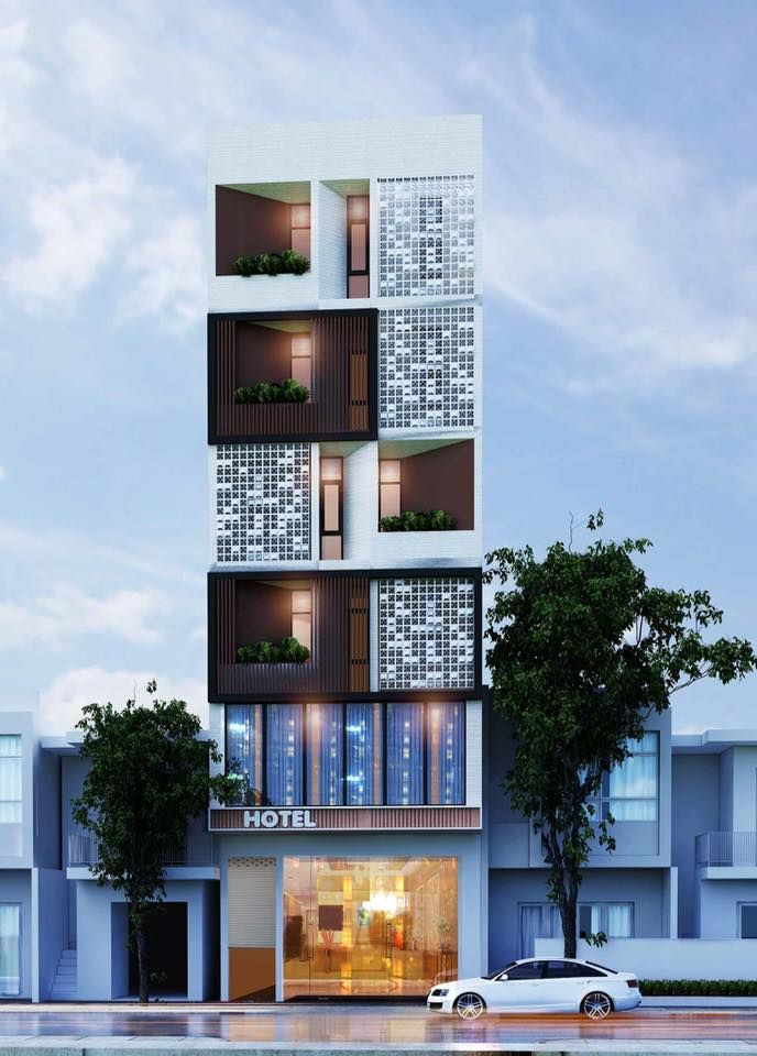 Building Elevation, House Elevation, Building Facade, Building Design, Facade  House, Facade