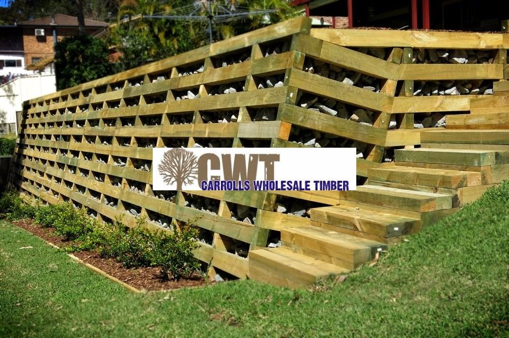 Cwt Have Australia S Largest Range Of Outdoor Timber Products Buy Online At Www Carrollswholesaletimber Com Treated Timber Timber Crib Wall